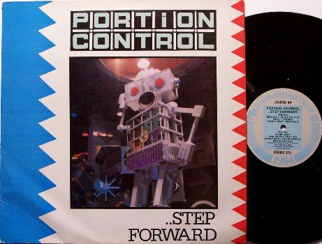 Portion Control - Step Forward - Vinyl LP Record - UK Pressing - Industrial Electropunk Rock