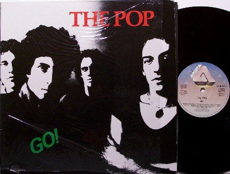 Pop, The - Go - Vinyl LP Record - West German Pressing - Go! - Rock