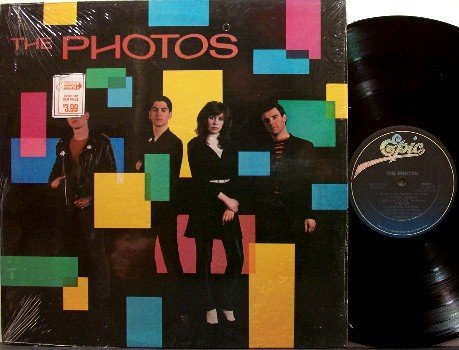 Photos, The - Self Titled - Vinyl LP Record - England Band - Rock