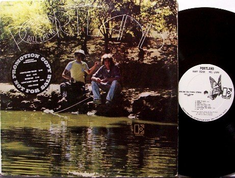 Ogan, Gary & Bill Lamb - Portland - Vinyl LP Record + Insert - White Label Promo - Rock