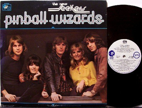 New Seekers, The - Pinball Wizards - Vinyl LP Record - Folk Rock
