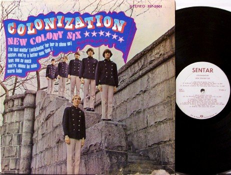 New Colony Six - Colonization - Vinyl LP Record - Sentar Label - Rock