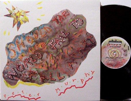 Murphy, Peter - Should The World Fail To Fall Apart - Vinyl LP Record - UK Pressing - Bauhaus - Rock