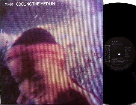 "M+M - Cooling The Medium - Vinyl 12"" Single Record - UK Pressing - m + m - Rock"