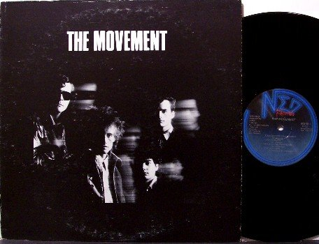 Movement, The - Self Titled - Vinyl LP Record - 80's Nashville Rock