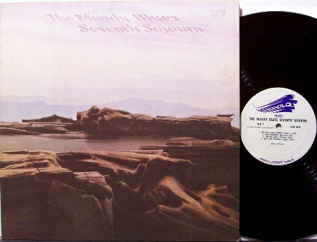 Moody Blues, The - Seventh Sojourn - Vinyl LP Record - 7th - Rock