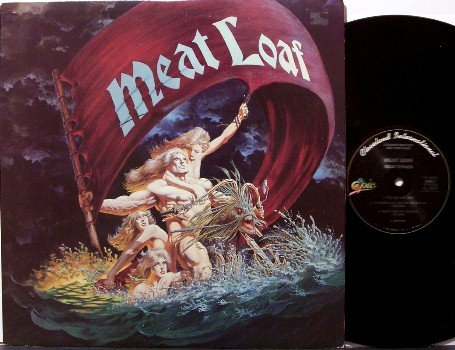 Meatloaf - Dead Ringer - Vinyl LP Record - Promo - Meat Loaf Jim Steinman - Rock