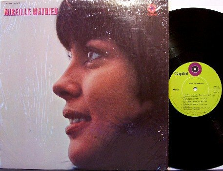 Mathieu, Mireille - Self Titled - Vinyl LP Record - French World Music - Pop
