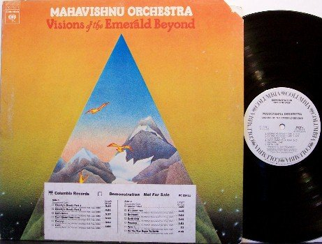 Mahavishnu Orchestra - Visions Of The Emerald Beyond - White Label Promo - Fusion Rock