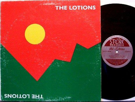 Lotions, The - Self Titled - Vinyl Mini LP Record - 1981 Austin Texas Rock