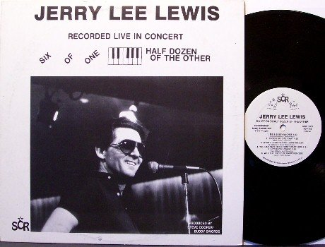 Lewis, Jerry Lee - Six Of One Half Dozen Of The Other - Vinyl LP Record - Live - Rock