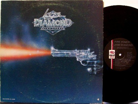 Legs Diamond - Fire Power - Vinyl LP Record - Rock