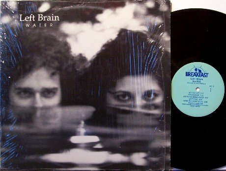 Left Brain - Water - Vinyl LP Record - Private Label - Pop Rock