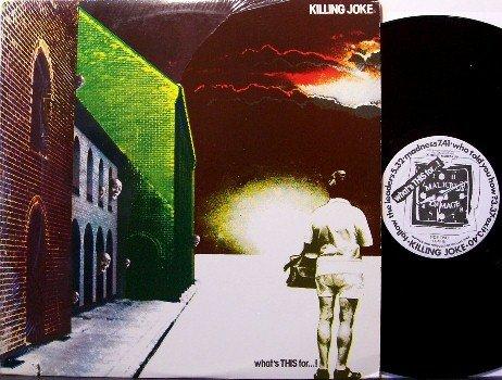 Killing Joke - What's This For - Vinyl LP Record - Rock