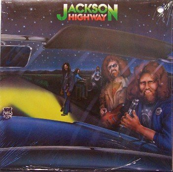Jackson Highway - Self Titled - Sealed Vinyl LP Record - Southern Rock
