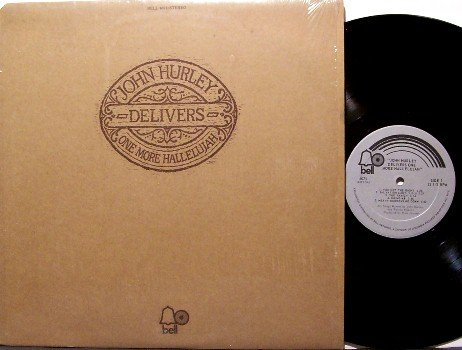 Hurley, John - Delivers One More Hallelujah - Vinyl LP Record - 1971 Gospel Rock