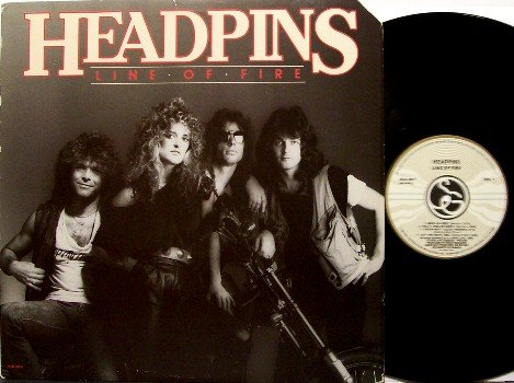 Headpins - Line Of Fire - Vinyl LP Record - Rock