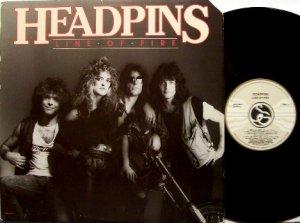 Headpins - Line Of Fire - Vinyl LP Record - Rock