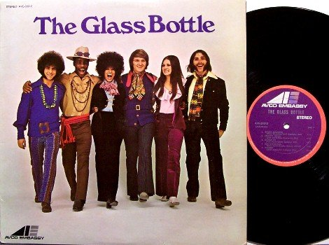 Glass Bottle, The - Self Titled - Vinyl LP Record - Rock