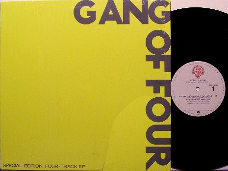 Gang Of Four - Self Titled - Vinyl Mini LP Record - Rock