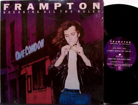 Frampton, Peter - Breaking All The Rules - Vinyl LP Record - Rock