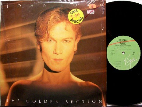 Foxx, John - The Golden Section - UK Pressing - Vinyl LP Record - Rock
