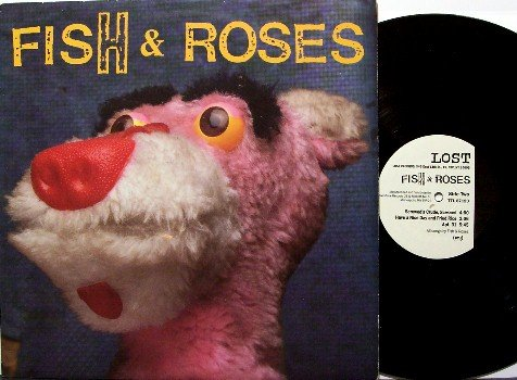 Fish & Roses - Self Titled - Vinyl LP Record - Rock