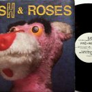 Fish & Roses - Self Titled - Vinyl LP Record - Rock