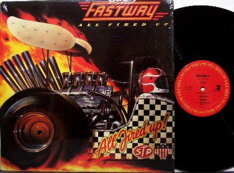 Fastway - All Fired Up - Vinyl LP Record - Rock