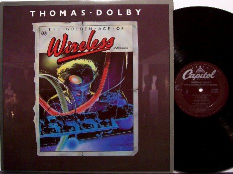Dolby, Thomas - The Golden Age Of Wireless - Vinyl LP Record - Rock