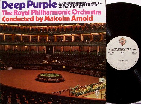 Deep Purple - Royal Philharmonic Orchestra - Canada Pressing - Vinyl LP Record - Rock