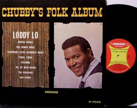 Checker, Chubby - Chubby's Folk Album - Vinyl LP Record - Rock