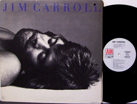 Carroll, Jim - Self Titled - White Label Promo - Vinyl LP Record - Rock