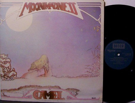 Camel - Moon Madness - Vinyl LP Record - UK Pressing - Prog Rock