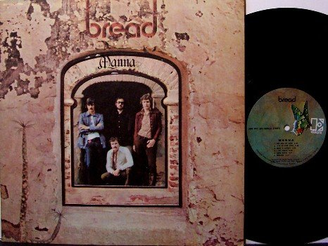 Bread - Manna - Vinyl LP Record - Tri Fold Cover - Pop Rock