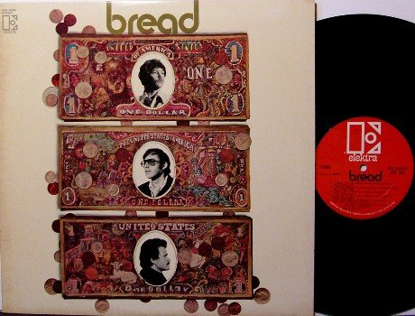 Bread - Self Titled - Vinyl LP Record - Pop Rock