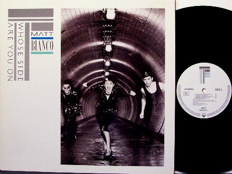 Bianco, Matt - Whose Side Are You On - France Pressing - Vinyl LP Record - Rock