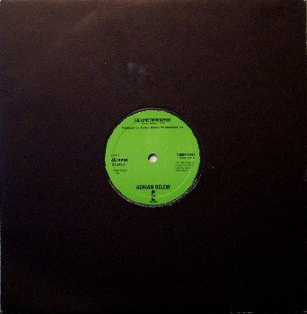 "Belew, Adrian - The Lone Rhinoceros - 10"" Vinyl Single Record - Great Britain Pressing - Rock"