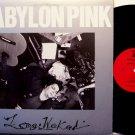 Babylon Pink - Long Weekend - Vinyl Mini LP Record - Rock