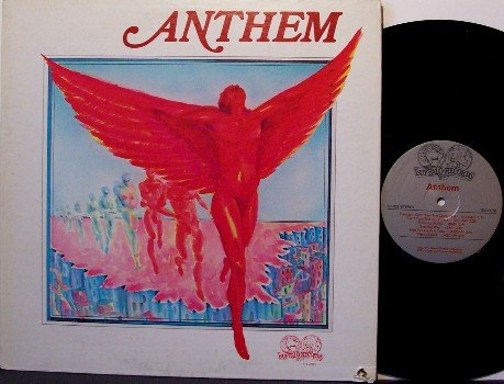 Anthem - Self Titled - Vinyl LP Record - Rock