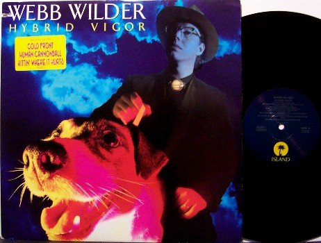 Wilder, Webb - Hybrid Vigor - Vinyl LP Record - Promo - Nashville Rock