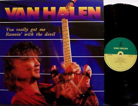 Van Halen - Unusual Korean Pressing Vinyl LP Record - Rock
