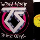 Twisted Sister - Ruff Cutts - Vinyl Mini LP Record - Rough Cuts - UK Pressing - Rock