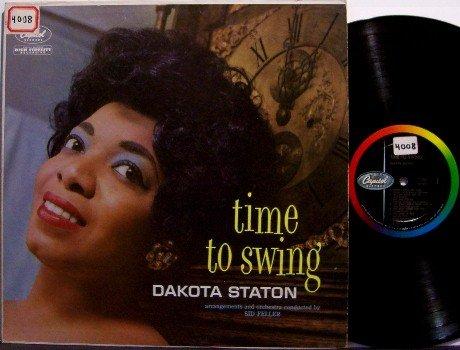 Staton, Dakota - Time To Swing - Vinyl LP Record - Capitol Mono - Pop Rock