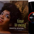Staton, Dakota - Time To Swing - Vinyl LP Record - Capitol Mono - Pop Rock