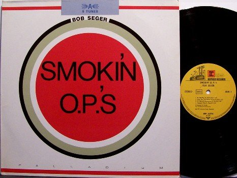 Seger, Bob - Smokin OP's - German Pressing - Vinyl LP Record - O.P.s - Rock