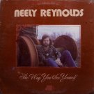 Reynolds, Neely - The Way You See Yourself - Sealed LP Record - 70's Private Southern Rock