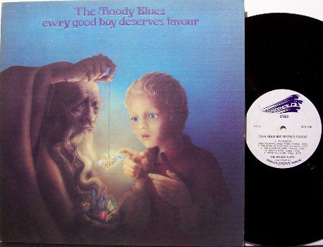 Moody Blues, The - Every Good Boy Deserves Favour - Vinyl LP Record - Rock