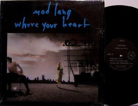 Mod Lang - Where Your Heart - Vinyl Mini LP Record - Rock