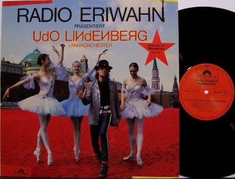 Lindenberg, Udo & Panikorchester - Radio Eriwahn Prasentiert - Vinyl LP Record - German Rock